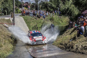 04 BOUFFIER Bryan (FRA)  DINI Gilbert (FRA) Ford Fiesta R5 action during the 2017 European Rally Championship Rally Rzeszowski in Poland from August 4 to 6 - Photo Gregory Lenormand / DPPI