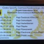 Siedem rajdów w kalendarzu RSMP 2018