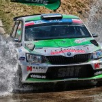 Through water splashes – only on Rally Rzeszow