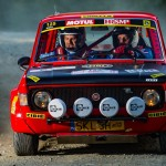 Historic cars in Rally Rzeszow