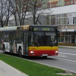 Zmiana tras autobusów komunikacji miejskiej
